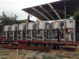Große Mischmaschine für den Plastik, der mit der Heizungs-Funktion wahlweise freigestellt aufbereitet