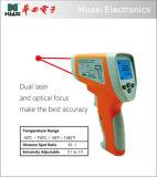 De digitale LCD Infrarode Thermometer van IRL van het niet-Contact 750c met Dubbele Laser
