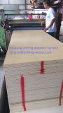 Contre-plaqué naturel de teck de taille de la qualité 3*7 de GV
