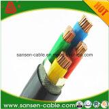 câbles d'alimentation de cuivre du conducteur 0.6/1kv offensants par XLPE
