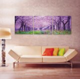 Cheap China Factory Price Production de masse Flower Painting Wall Pictures for Living Room