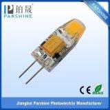 Diodo emissor de luz G4 Bulb de COB 12V AC/DC 1.5W