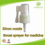 35 mm Boquilla de plástico Garganta La bomba del pulverizador para el Cuidado Personal