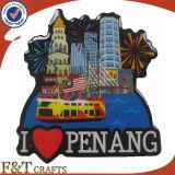 Personalizzare il magnete del frigorifero della resina del regalo del ricordo della Malesia (FTFM2259A)