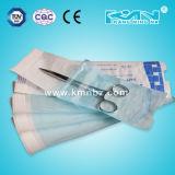 Las bolsas autoadhesivas con Eto, vapor, forma esterilizaron ISO, CE, TUV aprobado