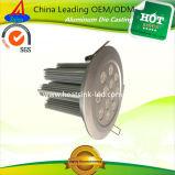 Dissipadores de calor de alumínio da luz de teto da carcaça com prioridade do preço