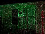 Luz laser al aire libre, luz laser de la luciérnaga verde roja de la ducha de meteorito