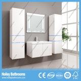 Unidade High-Gloss da vaidade do banheiro da pintura do interruptor quente do toque claro do diodo emissor de luz (B804D)