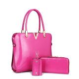 Signora Handbag della donna del progettista stabilito dei sacchetti di PCS del cuoio 3 dell'unità di elaborazione di modo