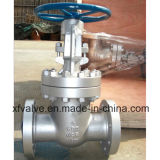 Válvula de porta da extremidade da flange de Wcb do aço de carbono do molde do ANSI 150lb/300lb