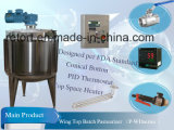 1000L Milk Batch Pasteurizer met Variable Speed Controller (DOW)