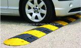 Rampe jaune et noir de sécurité routière de circulation de véhicule de vitesse