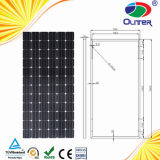 Alto Efficency Monocrystalline Solar Panel con 25years Life per Solar Systems