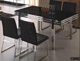 最もよい品質のマホガニーの黒い食堂テーブルA8001