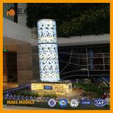 상업적인 건물 모형 또는 전람 모형 또는 프로젝트 건물 모형/