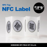 HF 13.56MHz Nfc Anti-Metal Adhesive Label Ntag213