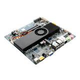 VGA industrial encaixado/HDMI/Lvds do cartão-matriz do Itx do processador central do átomo D2550 gráfico discreto o mini