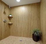 PVC 100%防水石造りのプラスチック合成の壁のボード