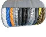 Câble plat électrique en caoutchouc de conducteur de cuivre de grue