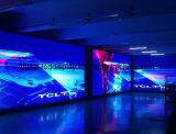 Affichage à LED incurvé flexible polychrome d'intérieur de P6mm
