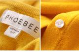 Baumwollange Hülsen-Mädchen-Häkelarbeit-Strickjacke 100%