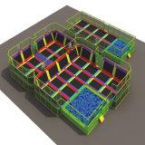 Plastic Slides TrampolineおよびBall Poolsの屋内Playground
