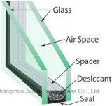 Glace isolante avec la forme plate ou incurvée