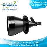 Lente do bi-Telecentric (PMS-DTCDM2.8-182) com ampliação dobro para ótico