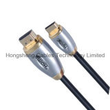 Escudo 1.4V HDMI do metal ao mini cabo de HDMI para PS4