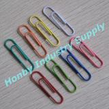 El nuevo diseño clasificó los clips plásticos de la oficina de la dimensión de una variable del prensado de los colores