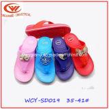 Sandali femminili di EVA di cadute di vibrazione di modo di estate