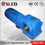 Motor helicoidal del reductor de velocidad de la unidad del engranaje de gusano de la serie S para la máquina de elevación