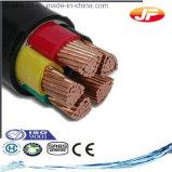 Cavo elettrico isolato ed inguainato del PVC di bassa tensione di 4 memorie