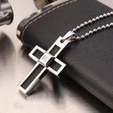 Halsketten-Kreuz-Anhänger der Edelstahl-Schmucksache-Form-Männer (hdx1006)