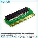 Pin 60 de FC (Famicom) au convertisseur PCBA d'adaptateur de Pin de Nes 72 avec la puce de Cic installée