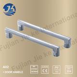 Punho em forma de L da tração da porta do banheiro do aço 304 inoxidável (A02)