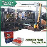 Máquina llena impulsada por motor de la bolsa de papel de la válvula automática