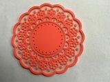 De Plastic Promotie Zachte 3D Onderlegger voor glazen van uitstekende kwaliteit van het Silicone (Co-0029)