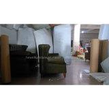 ジェーンのヨーロッパ式の居間の革ソファーはセットした(HW-2097S)