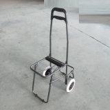 Saco de escalada Foldable do trole da compra de seis rodas com tamborete
