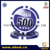 11.5gram 8stripe Poker Chip met Customized Stickers (sy-D17E)