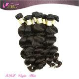 Cabelo frouxo da rainha da onda do cabelo cambojano natural do Virgin da extensão do cabelo