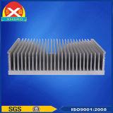 極度の品質アルミニウムはSVCのための脱熱器の側面図を描く