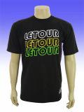 Manufactory Custom Logo Print Men Raglan Lycra T Shirt
