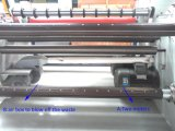 Étiquette de codes barres de Hx-1300fq fendant la machine de rebobinage