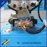 Máquina de friso da mangueira hidráulica inferior do preço