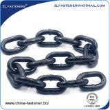 Catena lunga d'acciaio galvanizzata saldata del ferro della catena a maglia