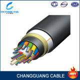 Single Mode Overhead Auto-Suporte ADSS G657 / G652D 48 Core Single Mode Power Transmission Cable