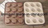 Rivestimento di ceramica bianco all'interno della vaschetta esterna variopinta Bakeware della focaccina