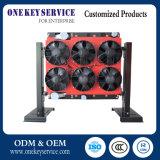 Автоматический контроль температуры разделяет охлаждающий вентилятор для системы обдува двигателя